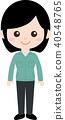人職業製服(女) 40548765