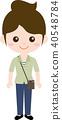 인물 직업 유니폼 (여성) 미용사 40548784