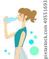 塑料瓶 女生 女孩 40551693
