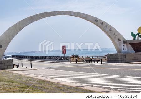 澎湖跨海大橋台灣島偏遠島嶼外島景觀 40553164