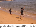 Sea and child 40558632