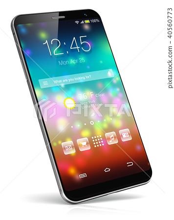 Modern touchscreen smartphone 40560773