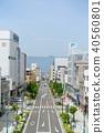 Ise town street city view Matsumoto city 40560801