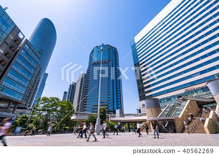 《東京都》品川站和城市景觀 40562269