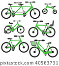 bicycle, bike, icon 40563731
