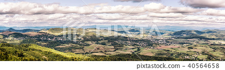 View from the Sitno hill to Stiavnica mountains 40564658