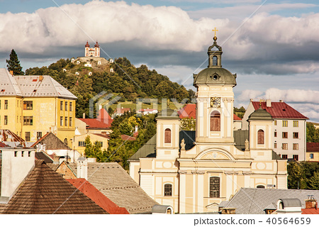 Calvary and Church of assumption, Banska Stiavnica 40564659