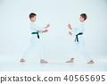 aikido, martial, training 40565695