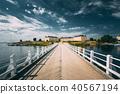 Sea Fortress. Residential Building At Suomenlinna In  Helsinki,  40567194