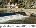 Castle tower in Cesky Krumlov, Czech republic 40567200