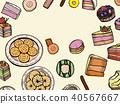 빵집, 제과점, 벡터 40567667