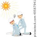 On-site supervision Heatstroke 40567941