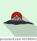 The sacred mountain of Fuji, Japan icon 40568943