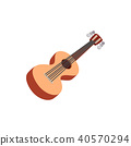 acoustic, guitar, vector 40570294