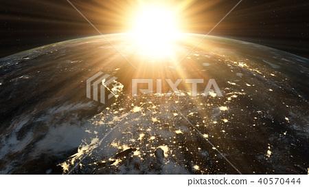 地球背景图形 40570444
