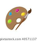 icon, vector, art 40571137