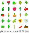 green, world, icons 40573544