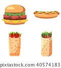 fast food icon 40574183