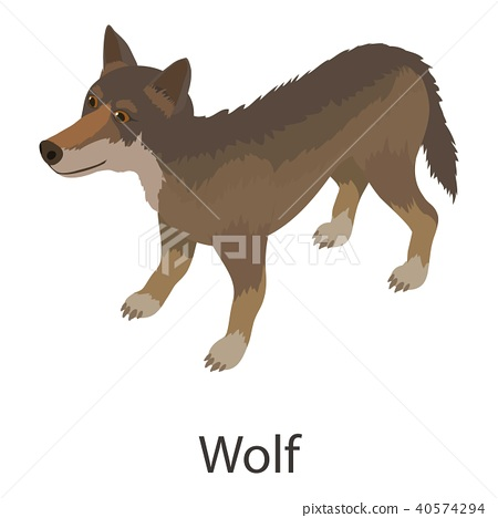 Wolf Icon Isometric Style Stock Illustration 40574294 Pixta ✓ free for commercial use ✓ high quality images. https www pixtastock com illustration 40574294