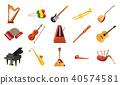 instrument, icon, vector 40574581