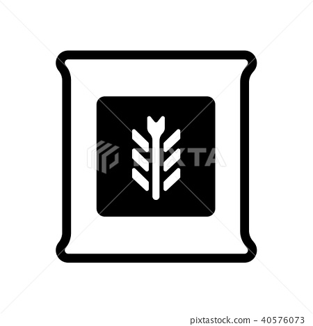 Flour & powder icon 40576073