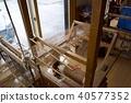야마 생업 마을 (니가타 현 무라카미시) 작동 직물 40577352