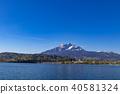 푸른, 하늘, 파란 40581324
