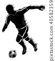 soccer, player, football 40582359