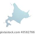 矢量 地图 北海道 40582766