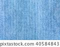 texture of denim cloth close-up 40584843
