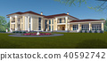 ภายนอก,ออกแบบ,บ้าน 40592742