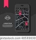 application gps marker 40593030