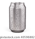 Blank Aluminium Can for beer, soft drinks, alcohol 40596882