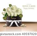 rose flower vector 40597020