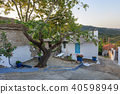 Old stone house in Theologos. Thassos, Greece 40598949