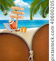 beach, flops, holiday 40600205