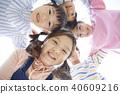 俯瞰視圖 孩子 兒童的 40609216
