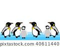 penguin, penguins, avian 40611440