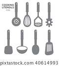 COOKING UTENSILS ICON 40614993