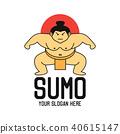 sumo logo, vector illustration 40615147