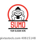 sumo logo, vector illustration 40615148