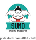 sumo logo, vector illustration 40615149