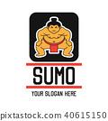 sumo logo, vector illustration 40615150