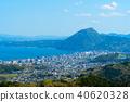 풍경, 경치, 벳푸완 40620328
