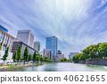히 비야 해자와 마루 노우치 · 히 비야의 도시 풍경 40621655