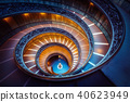 Staircase in Vatican Museums, Vatican, Rome, Italy 40623949