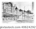 tokyo station, station building, station 40624292