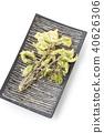 튀김, 튀김 요리, 산채 40626306