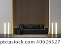 Modern living room 3d render 40626527
