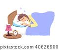 一个女人在睡觉 40626900